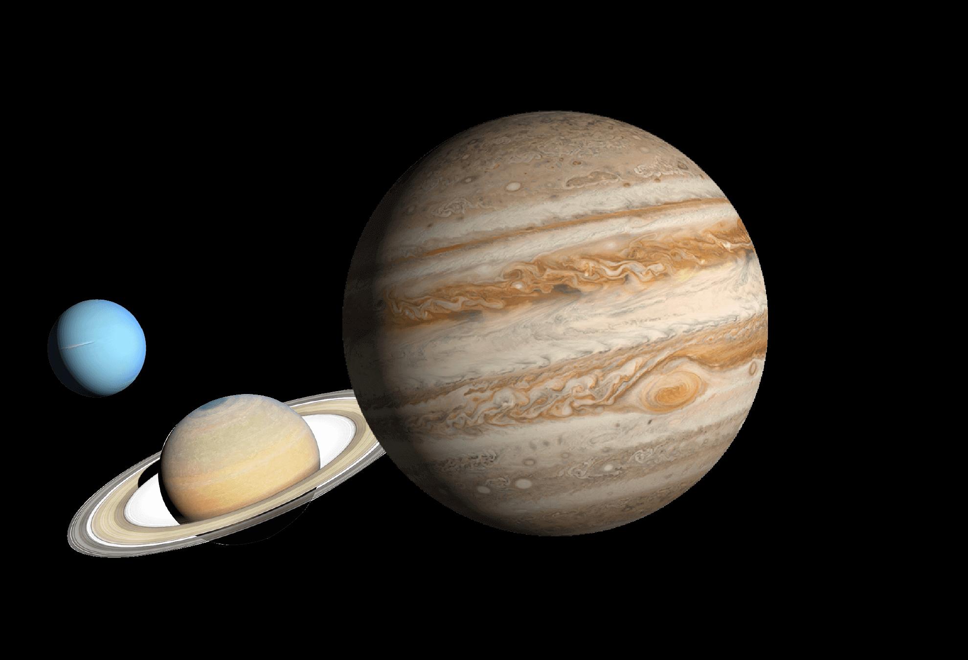 惑星の写真